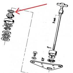 rondelle d'ajustage de 2 MM