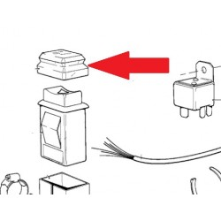 capuchon de protection bouton de feux de detresse