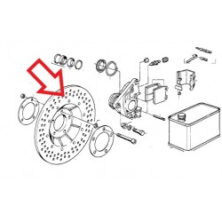 disque de frein R45/65 avant 85 et R80gs/st