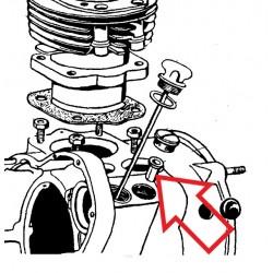 bague d'axe de pompe a huile