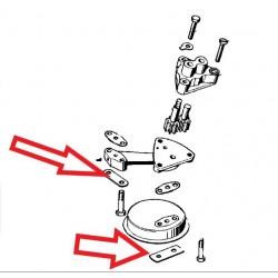 plaque frein