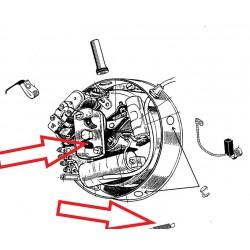 ressort de 9 mm d'avance centrifuge