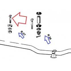 vis de fixation de guidon R27