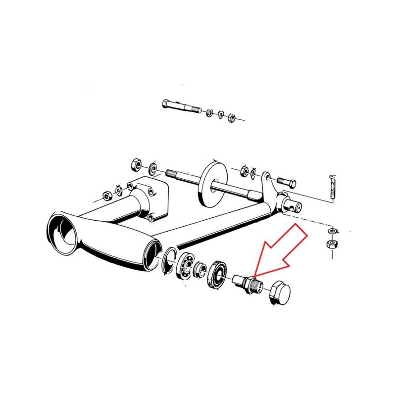 XLC Boulons De Montage M4X22-20pcs