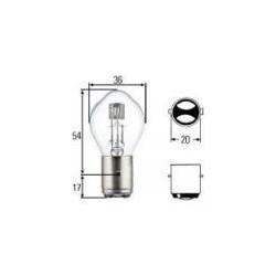 ampoule 6V 35/35W