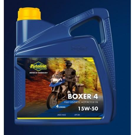 huile moteur putoline boxer 15W50 en 4litres