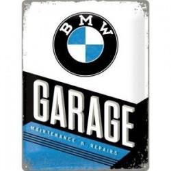 plaque metal garage   30X40cm