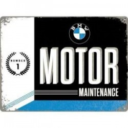 plaque metal maintenance  30X40cm