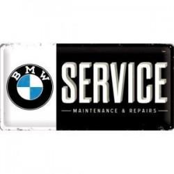 plaque metal service  25X50cm