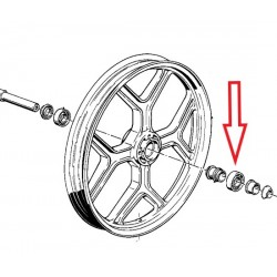 roulement de roue avant 25x47x12