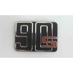 plaque de selle 90s